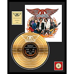 24 Kt. Gold Records Aerosmith - World's Greatest... Etched Gold LP Limited Edition of 2500 (AAJL240)