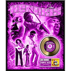 24 Kt. Gold Records Jimi Hendrix - Purple Haze Gold 45 Limited Edition of 2500 (AALF116)