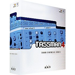 AAS Tassman 4 Sound Synthesis Studio Software (AA-TSM)