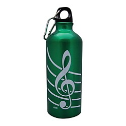 AIM Aluminum Bottle G Clef (71490D)
