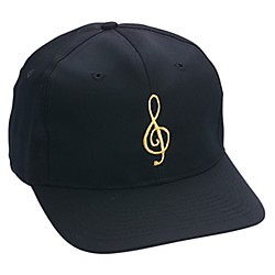 AIM Black/Gold Treble Clef Hat (6407)