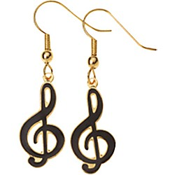 AIM G-Clef Earrings (E81A)