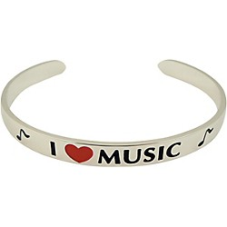 AIM I Love Music Cuff Bracelet (29308)