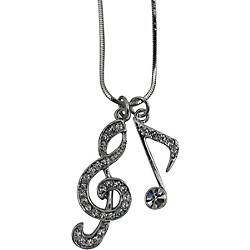 AIM Musical Note/Treble Clef Necklace (N419)