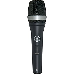 AKG D5 S Supercardioid Dynamic Vocal Microphone with On/Off Switch (D5S)
