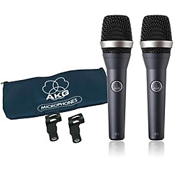 AKG D5 Supercardioid Handheld Dynamic Microphone (2-Pack) (AKG D5 Two-Pack)