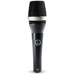 AKG D5 Supercardioid Handheld Dynamic Microphone (3138X00070)