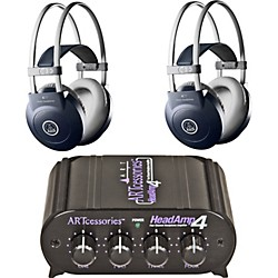 AKG Headamp 4/K77 Headphone Two Pack (KIT-500882)