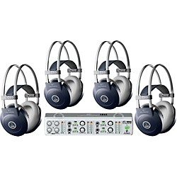 AKG MiniAMP/K77 Headphone Four Pack (KIT-500887)