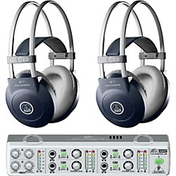 AKG MiniAMP/K77 Headphone Two Pack (KIT-500886)