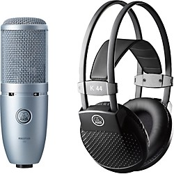 AKG Perception 120 Condenser Mic with K 44 Headphones (PERCEPTION120K44MKII)