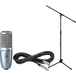 AKG Perception 220 Condenser Mic with Cable and Stand (PERCEPTION220CABLESTAND)
