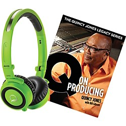 AKG Quincy Jones Q460 Headphones with Q on Producing Book (Q460QONPRODUCING)