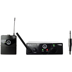 AKG WMS 40 Mini Instrument Wireless System Ch B with D8000M Handheld (WMS40MiniInst ChB D8000M)