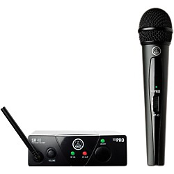 AKG WMS 40 Mini Vocal Wireless System Ch C with D8000M Handheld (WMS40MiniVocal ChC D8000M)