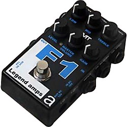 AMT Electronics Legend Amps Series F1 Distortion Guitar Effects Pedal (USED004000 LAS-F1)