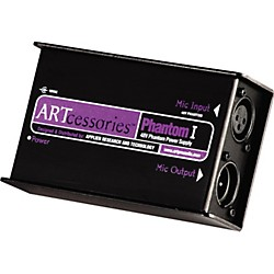 ART Phantom I Studio Mic Power Supply (PHANTOM I)