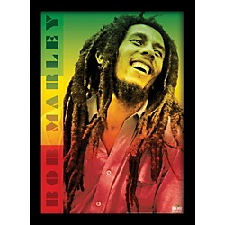 Ace Framing Bob Marley - Colors 24x36 Poster (PAS0378F)