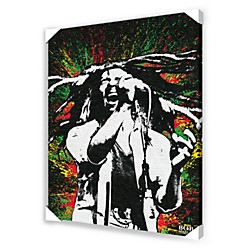 Ace Framing Bob Marley Paint Splash Framed Artwork (CVA00006)