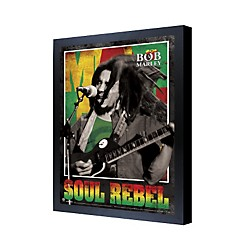 Ace Framing Bob Marley Soul Rebel 3D Framed Poster (PPL70102F)