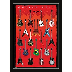 Ace Framing Guitar Hell - Axes Of Hell 24x36 Poster (PP32523F)