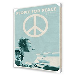 Ace Framing John Lennon People For Peace Framed Artwork (CVA00012)