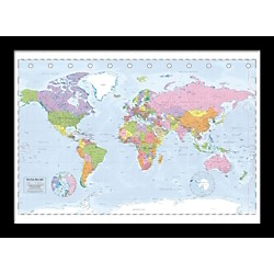 Ace Framing Political Map 24x36 Poster (PP31987F)