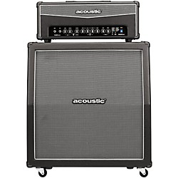 Acoustic Lead Guitar Series G120H DSP 120W w/G412A 4x12 Stereo Guitar Speaker Cabinet (G120H-G412A)
