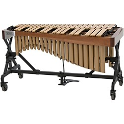 Adams Alpha Series 3.0 Octave Vibraphone, Gold Bars Motor Traveler Frame Walnut Rails (VAGT30M/9T3)
