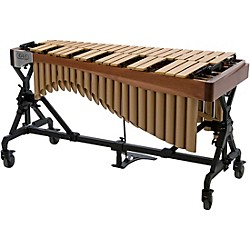 Adams Alpha Series 3.0 Octave Vibraphone, Silver Bars Motor Traveler Frame Walnut Rails (VAST30M/9T1)