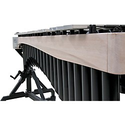 Adams Alpha Series 3.0 Octave Vibraphone, Silver Bars Motor Traveler Frame White Wash Rails (VAST30M/9W1)