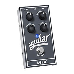 Aguilar AGRO Bass Overdrive Bass Effects Pedal (510-253)