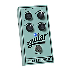 Aguilar Filter Twin Dual Envelope Filter Effects Bass Pedal (510-254)