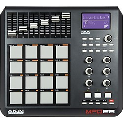 Akai Professional MPD26 Performance Pad Controller (MPD26)