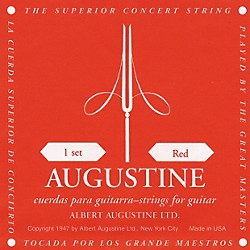 Albert Augustine Red Label Classical Guitar Strings (AUGRED)