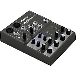 Alesis MultiMix 4 USB Compact Mixer (mm4usbx110)