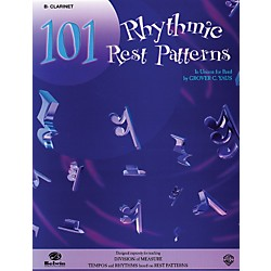 Alfred 101 Rhythmic Rest Patterns B-Flat Cornet (Trumpet) (00-EL00554)