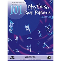 Alfred 101 Rhythmic Rest Patterns B-Flat Tenor Saxophone (00-EL00553)