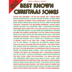 Alfred 120 Best Known Christmas Songs PVG Book (00-VF1854A)