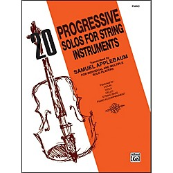 Alfred 20 Progressive Solos for String Instruments Piano Acc. (00-EL02729)