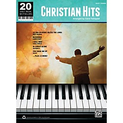 Alfred 20 Sheet Music Bestsellers Christian Hits Easy Piano Book (00-39441)