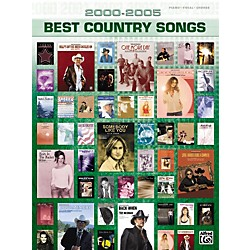 Alfred 2000-2005 Best Country Songs Piano, Vocal, Guitar Songbook (00-25901)