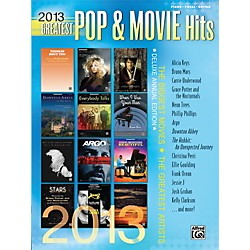 Alfred 2013 Greatest Pop & Movie Hits P/V/C Book (00-41033)