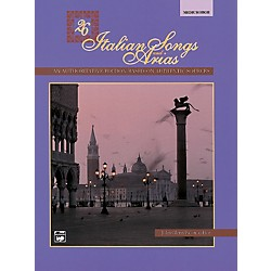 Alfred 26 Italian Songs and Arias Book (Medium High) (00-3402)