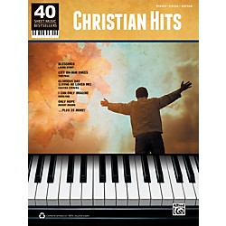 Alfred 40 Sheet Music Bestsellers: Christian Hits Book (00-37633)