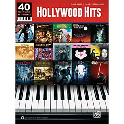 Alfred 40 Sheet Music Bestsellers: Hollywood Hits Book (00-38835)