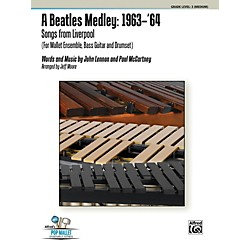 Alfred A Beatles Medley: 1963'64 Percussion Ensemble Score & Parts (00-40834)