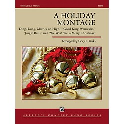 Alfred A Holiday Montage Concert Band Grade 3 Set (00-41959)