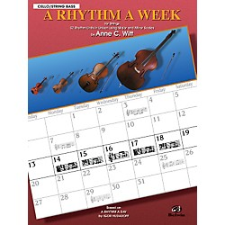 Alfred A Rhythm a Week Cello/Bass (00-EL9805)