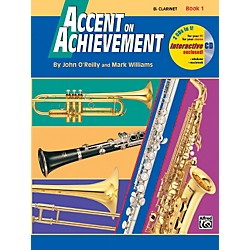Alfred Accent on Achievement Book 1 B-Flat Clarinet Book & CD (00-17084)